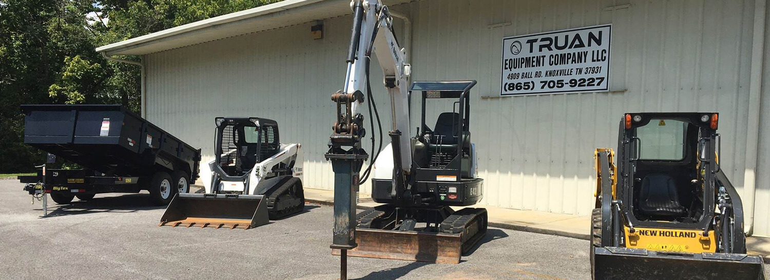 Truan Equipment | Knoxville, TN | We Also Carry an Extensive